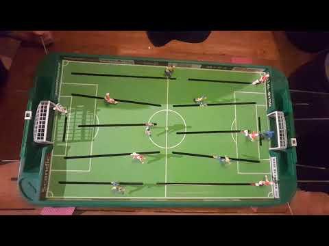 epic stiga soccer game Mats vs Rigge