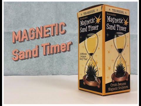Magnetic Sand Timer - (Magnetic Hourglass / Magnetic sand hourglass)