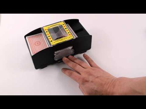 Automaattinen pelikorttien sekoittaja