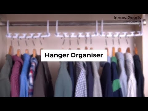 InnovaGoods Home Organize Hanger Organiser