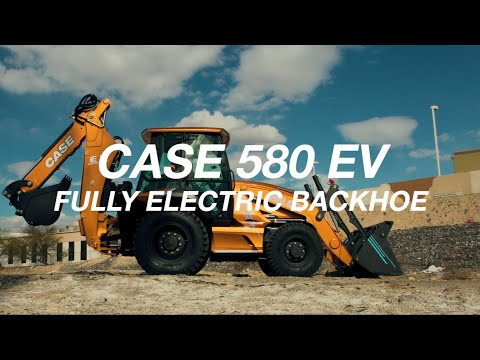 North America: CASE Introduces the Industry's First Fully Electric Backhoe Loader