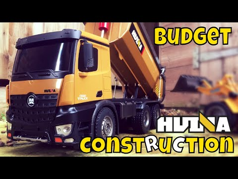 Budget Construction Toys - Dumper Truck - HUINA TOYS 1573 Review and Test,