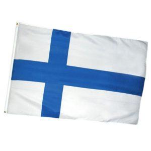 Suomen lippu, 150 x 90 cm